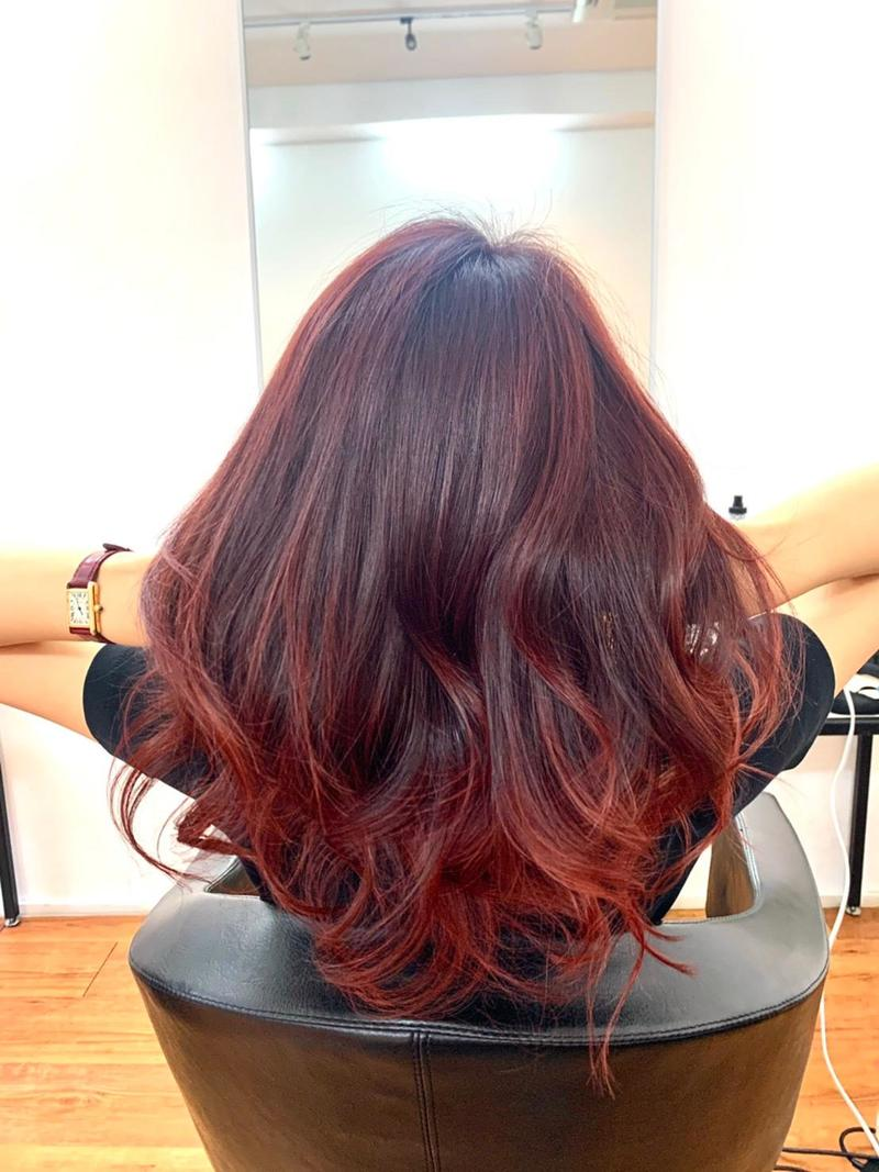 Red Brown Highlights