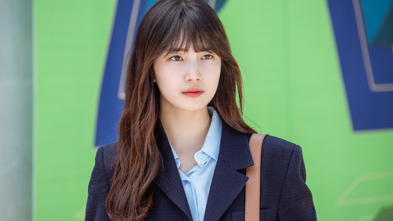 Bae Suzy Natural Perm Hairstyle