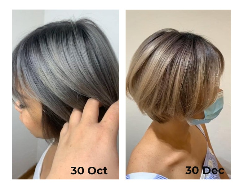 Gorgeous Fading Hair Colour from The Beauty Emporium by The Urban Aesthetics