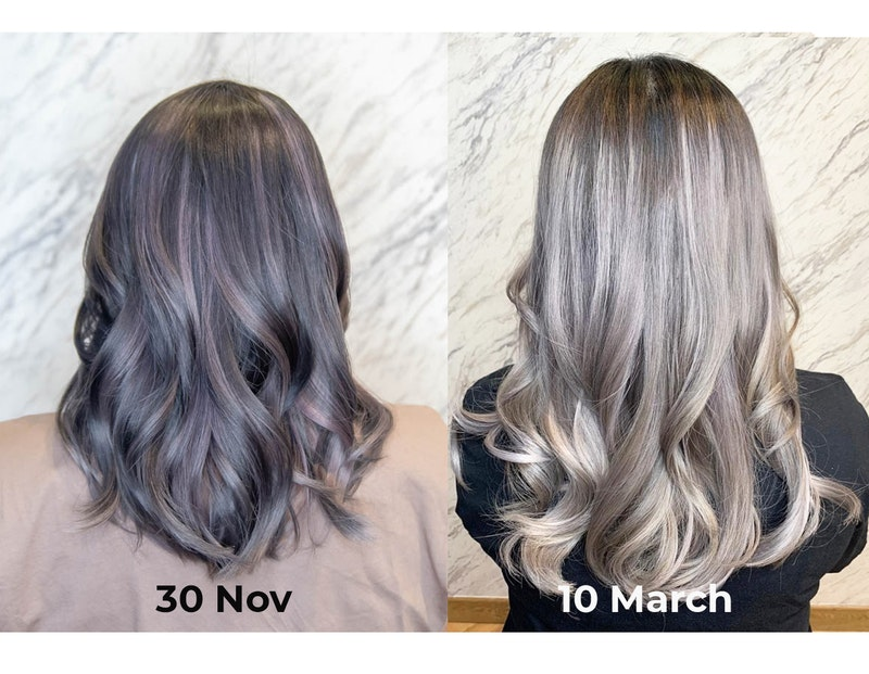 Good Fading Hair Colour From The Beauty Emporium by The Urban Aesthetics