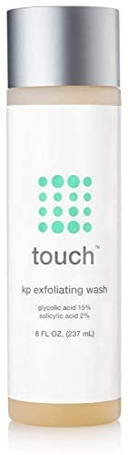 Touch Keratosis PIlaris & Acne Exfoliating Body Wash Cleanser
