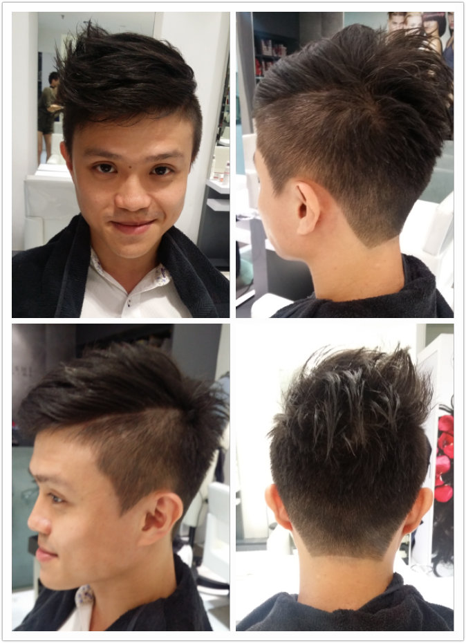 Men's Haircut and Style (Veronise)