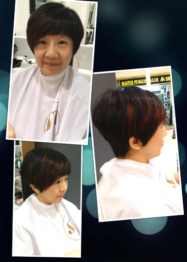 Haircut and Highlight (Veronise)