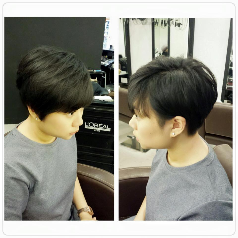 Pixie Short Haircut at Focus Hairdressing
