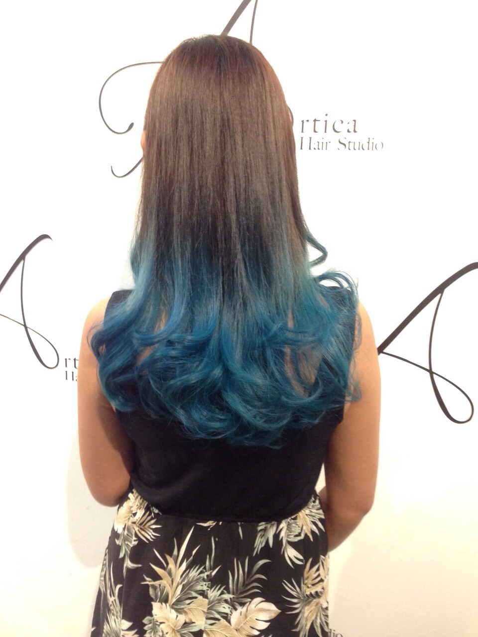 Turquoise Ombre (Terry)