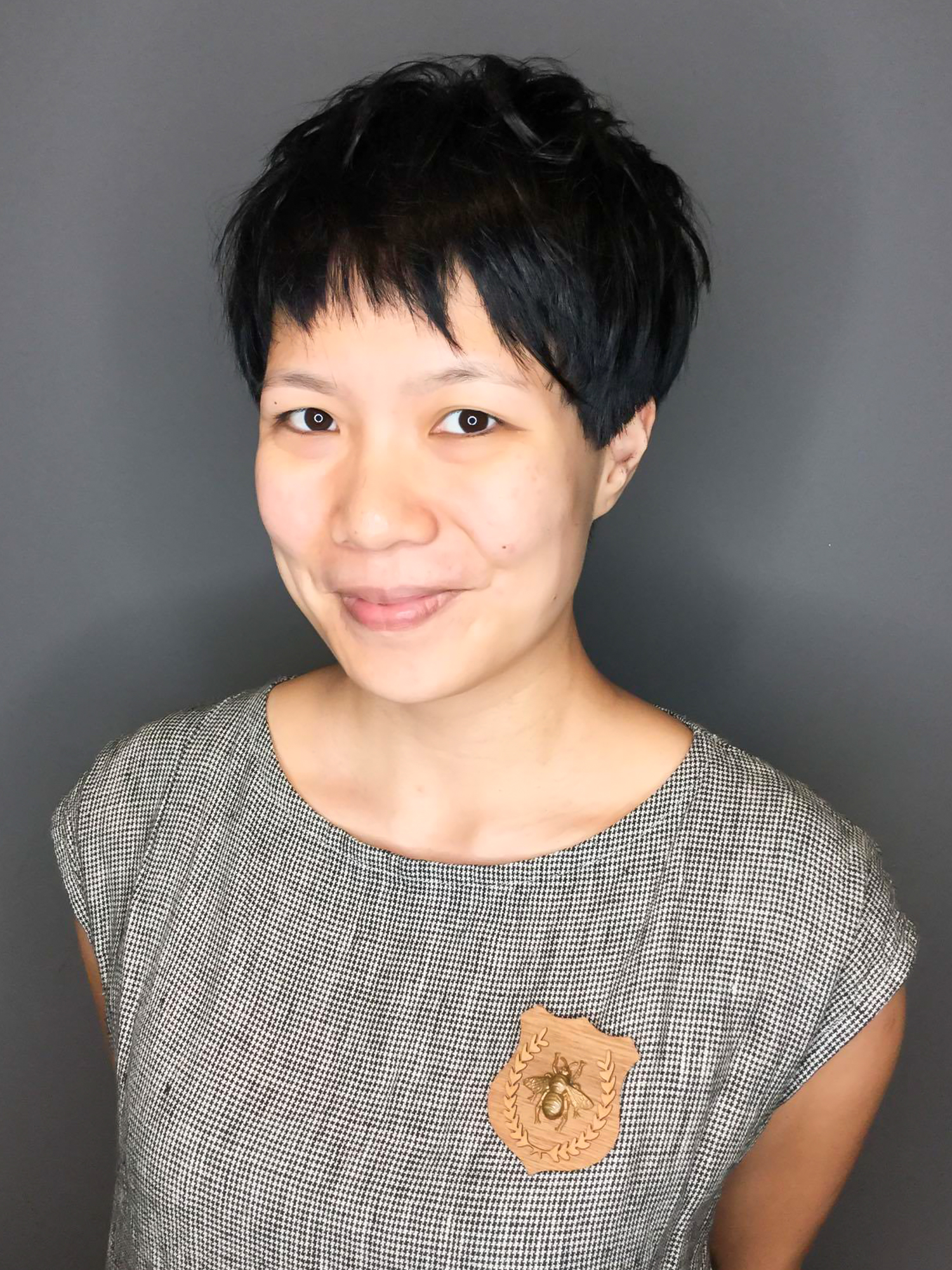 Japanese Pixie Haircut For Ladies