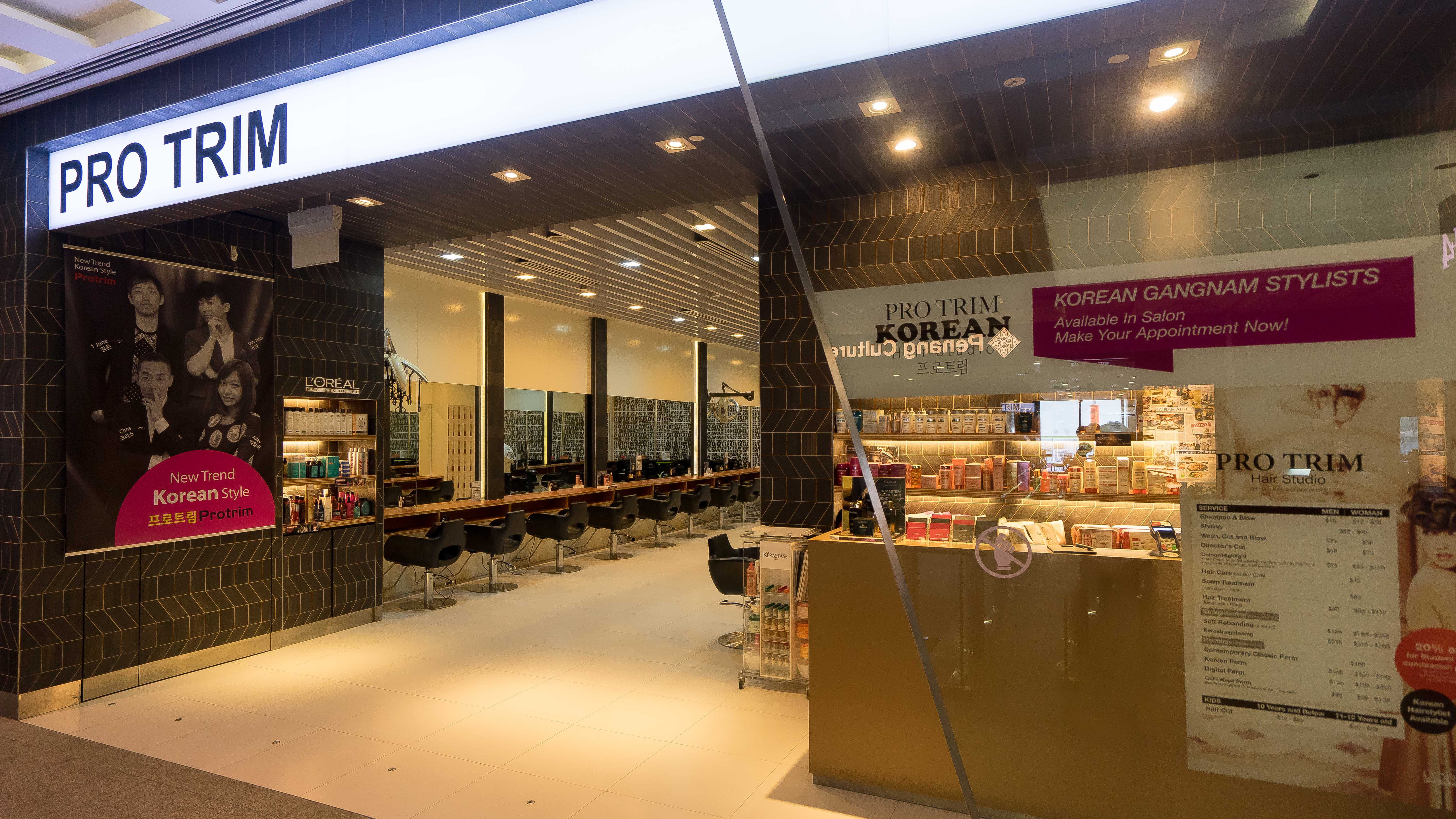 Best Haircut Salons in Singapore at Pro Trim