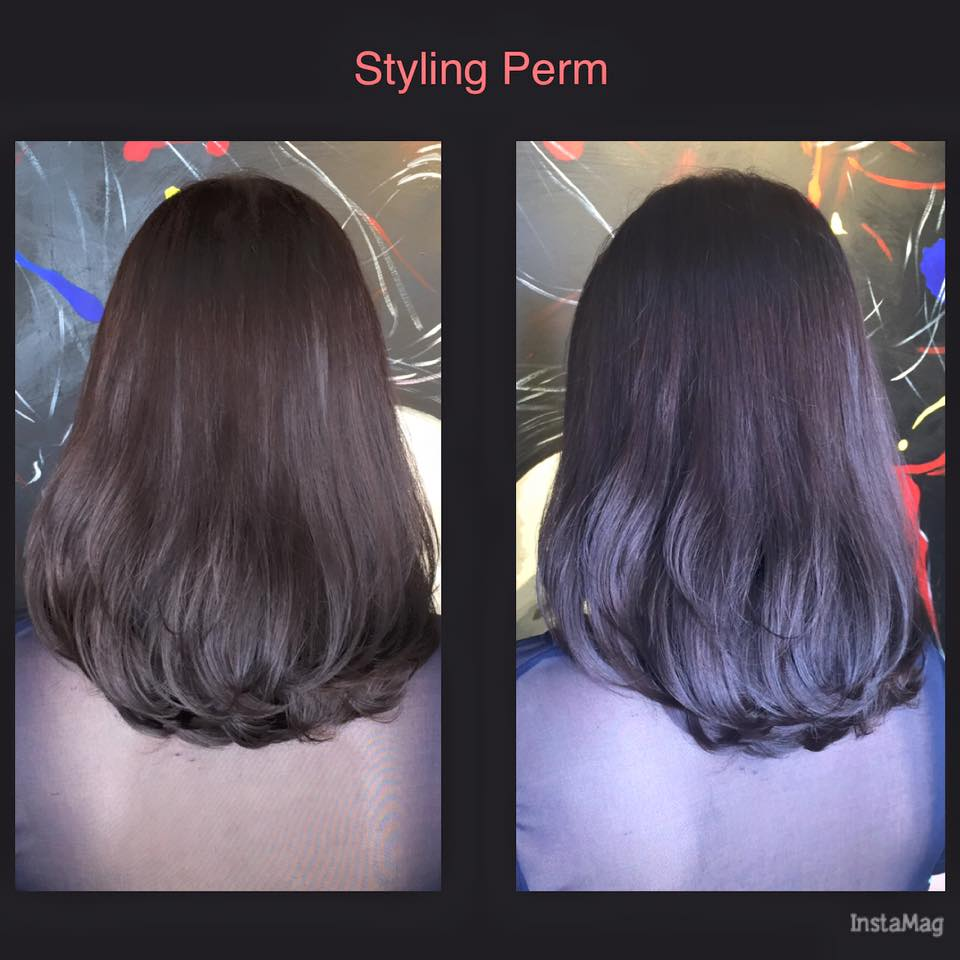 Low maintenance styling perm for perm beginners