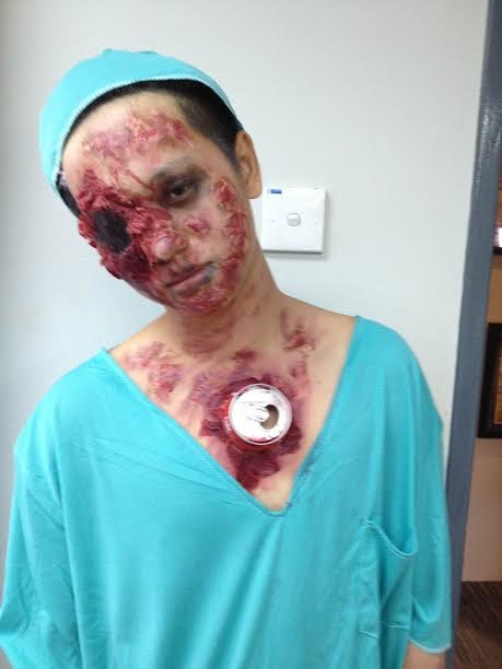Halloween Event Makeup by 99 percent