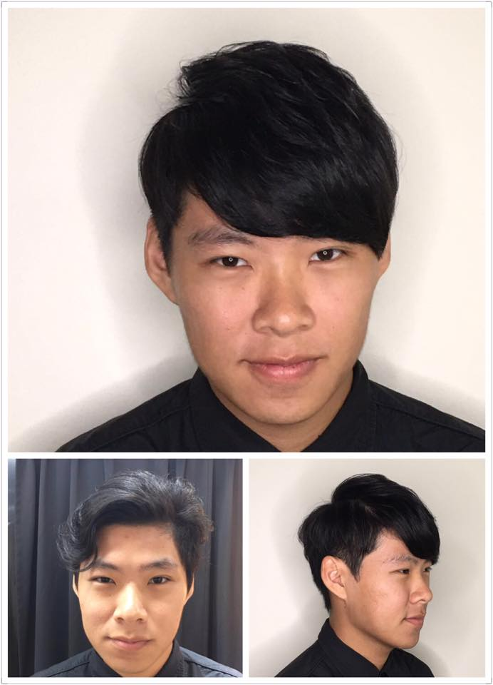 C Style Men's Perm by Picasso Hair Studio