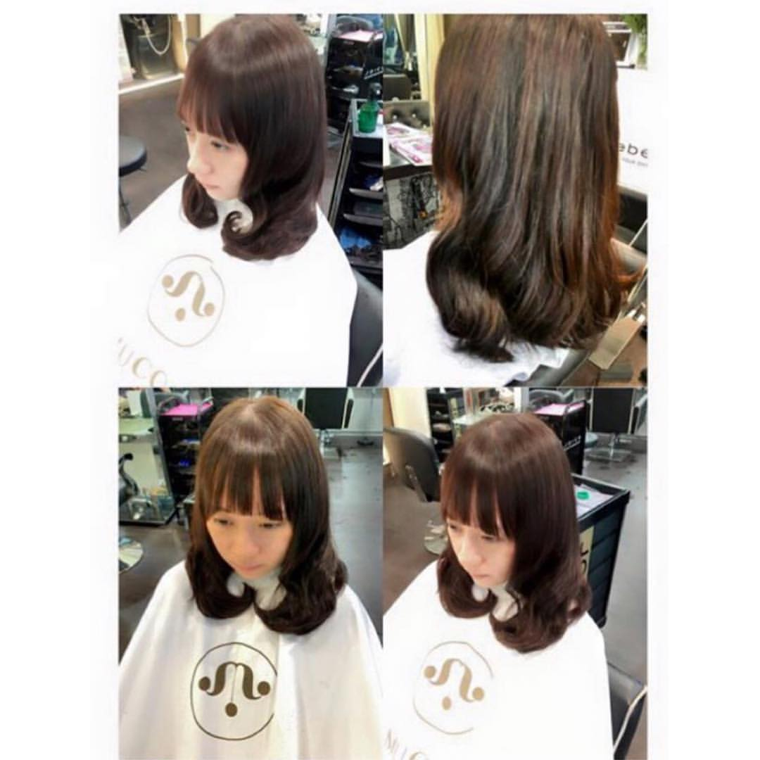 Before and After Volume Rebonding at Full House Salon