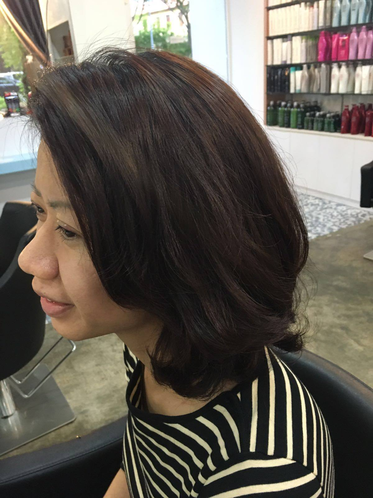 Perm by Jess Kong From Act Point Salon