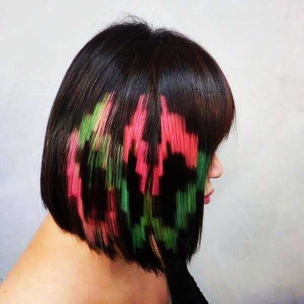 Pixelated Hair Colour by 99 Percent