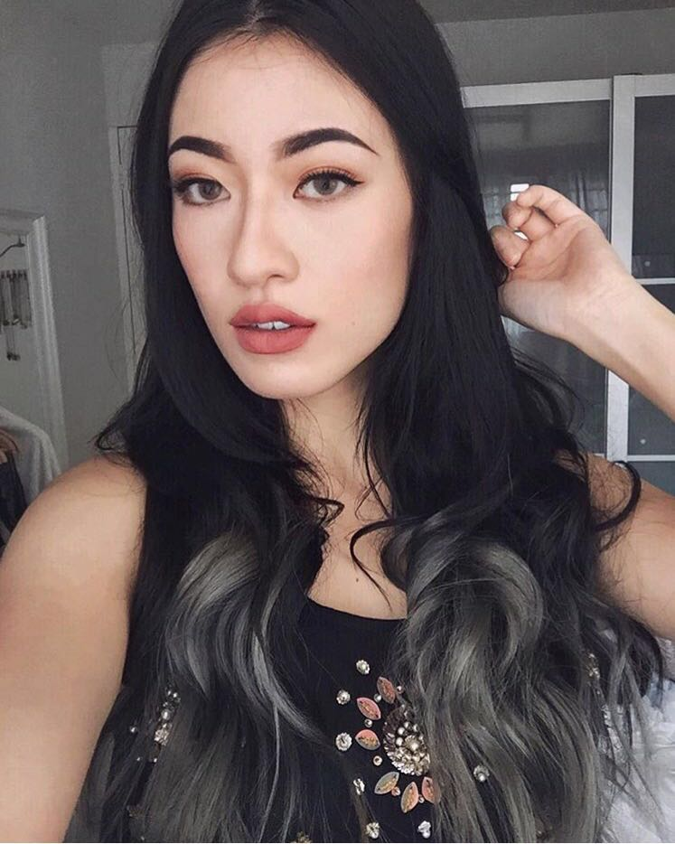 Ombre Grey Hair by Hair by Xavier Leong