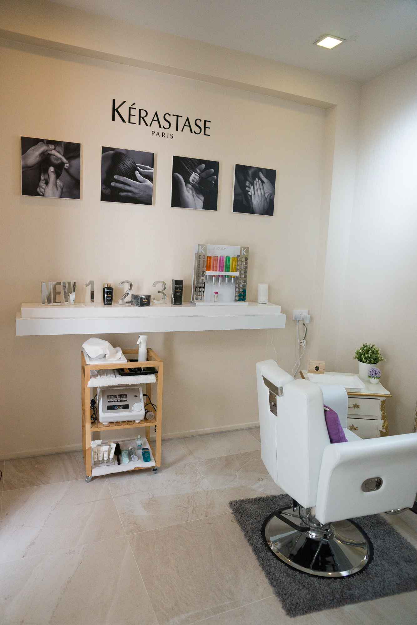 scalp room treatment at Picasso