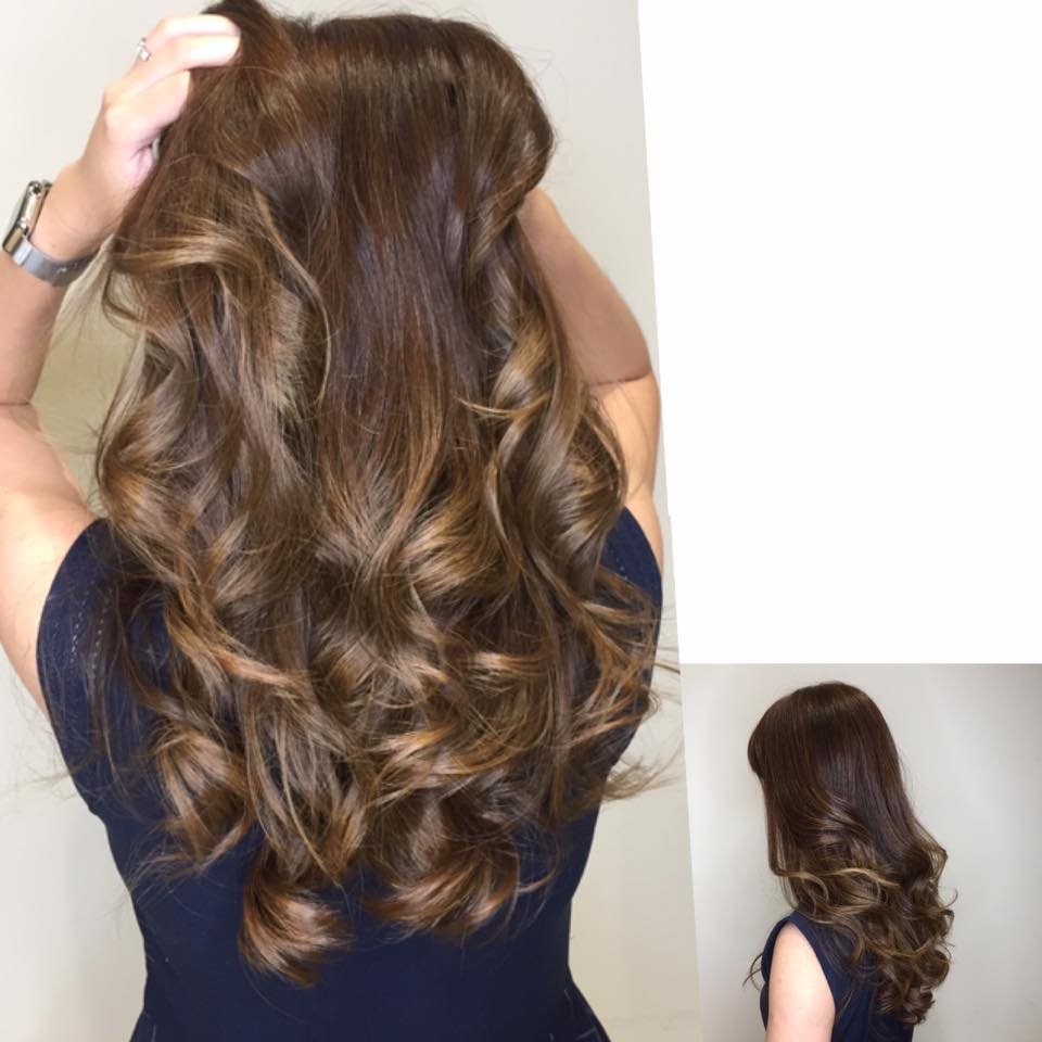 Professional Balayage Colour at Branche