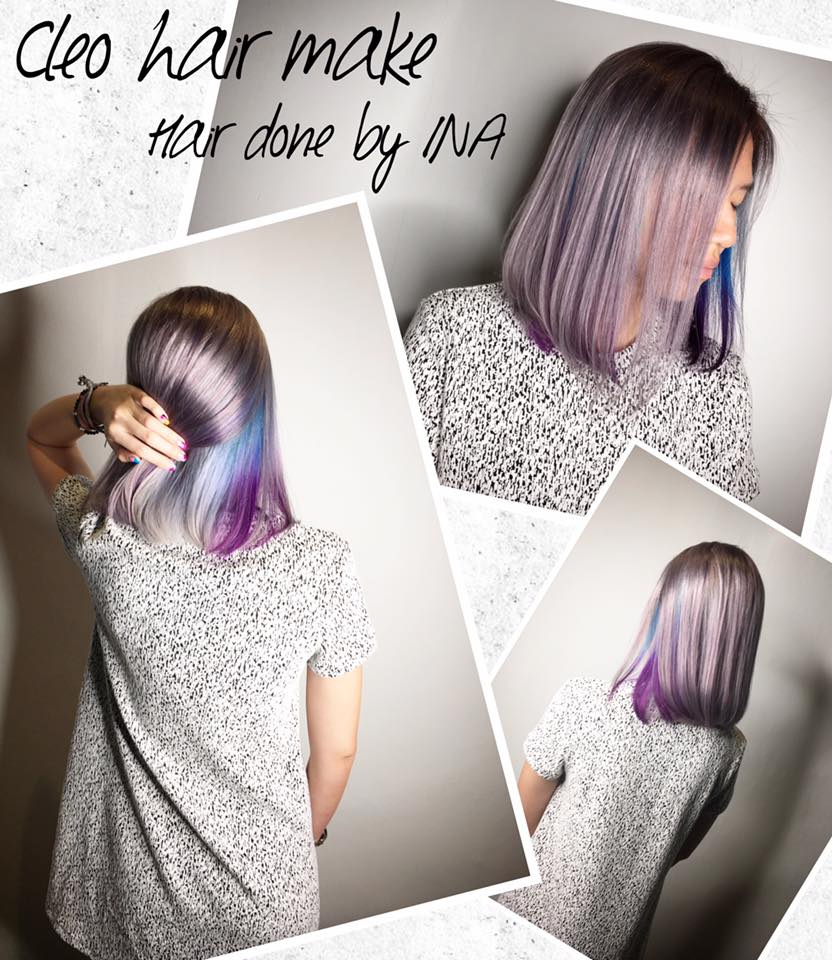 Pastel Lavender with Blue and Purple (Ina)