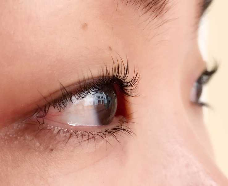 Permed Eyelashes not suitable for lash extension