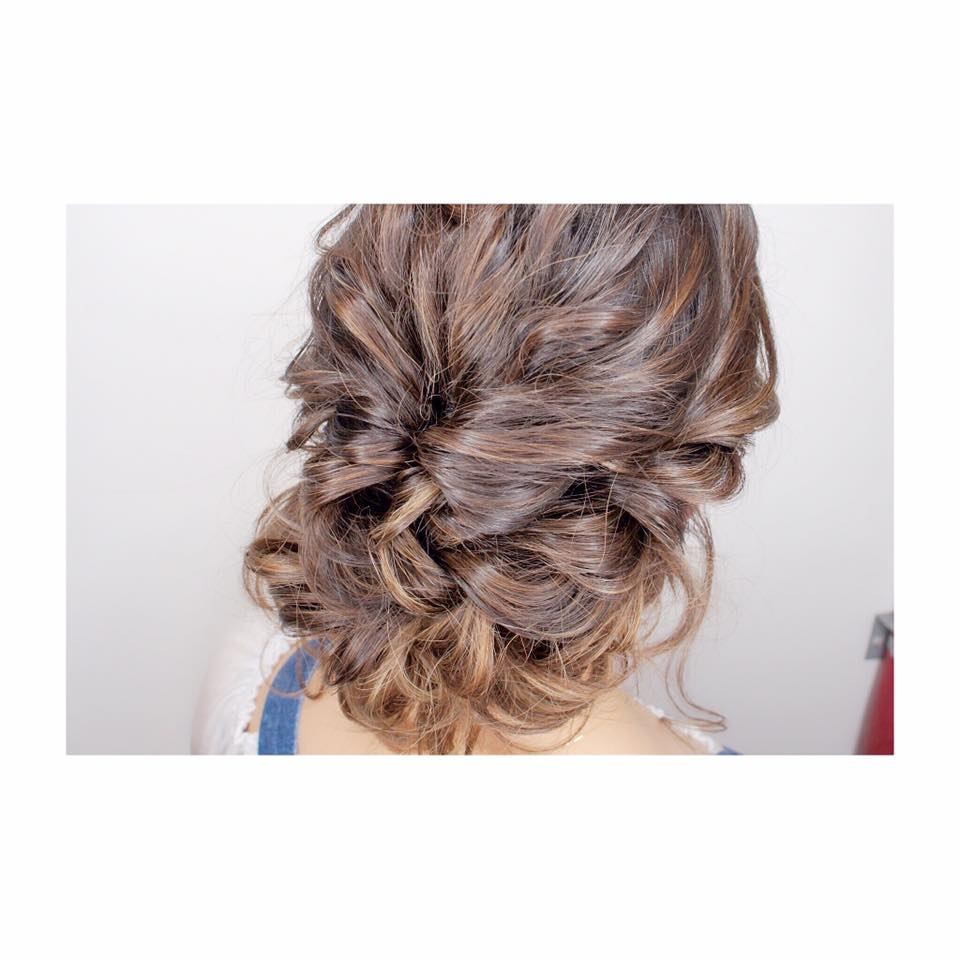 Braided Updo by Bump by AVENTA
