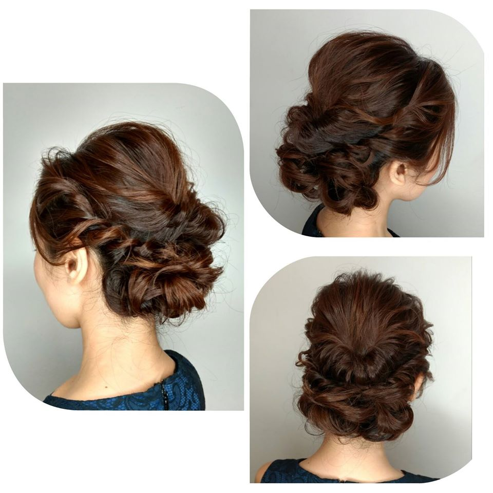 Braided Updo for Wedding and Events at AVENTA