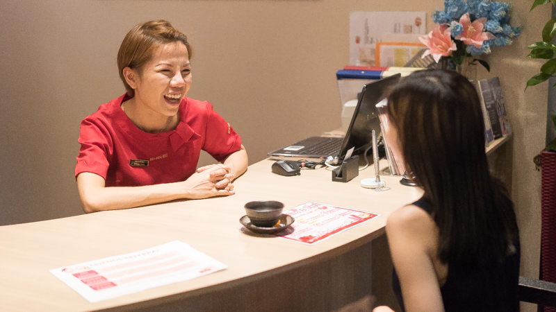 Skin Consultation at Face Plus by Yamano