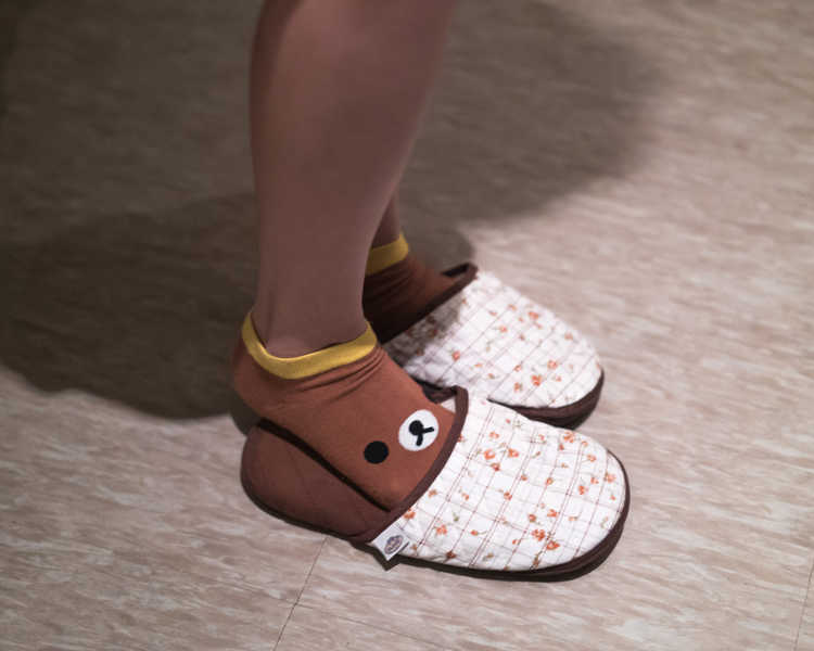 Cute Slippers at Face Plus by Yamano