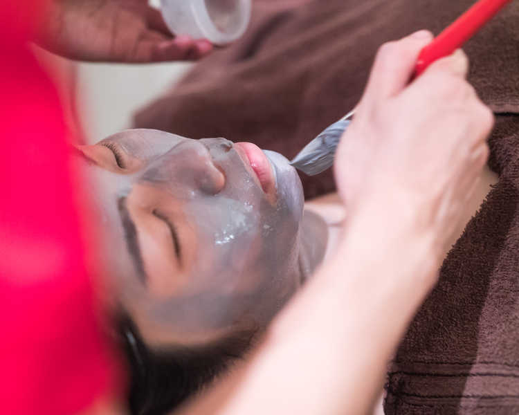 High Quality Clay Mask at Face Plus by Yamano