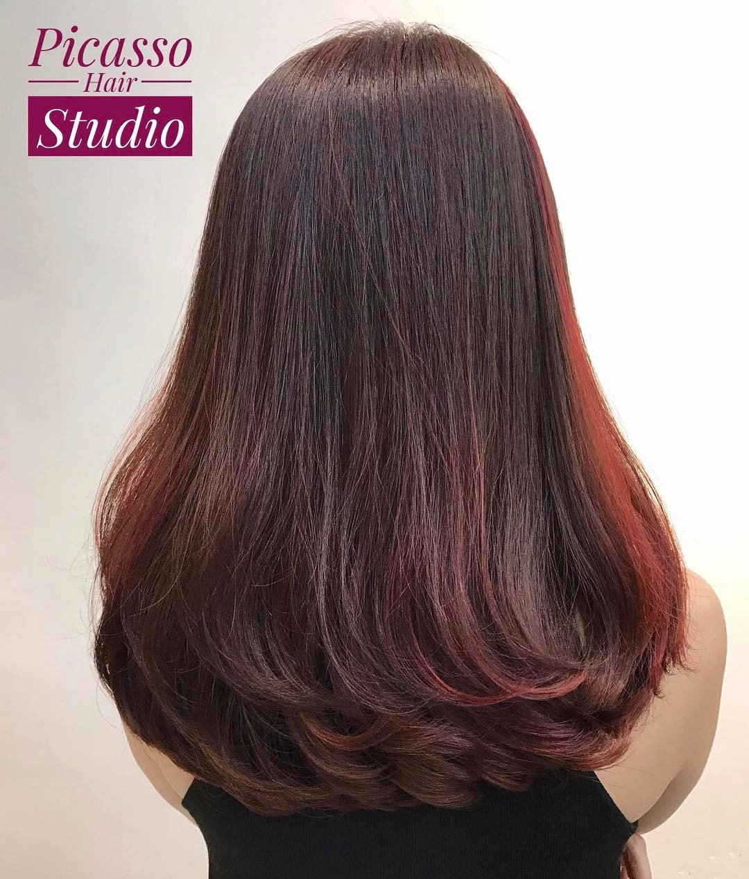 Sombre Hair Colour for Styling Perm