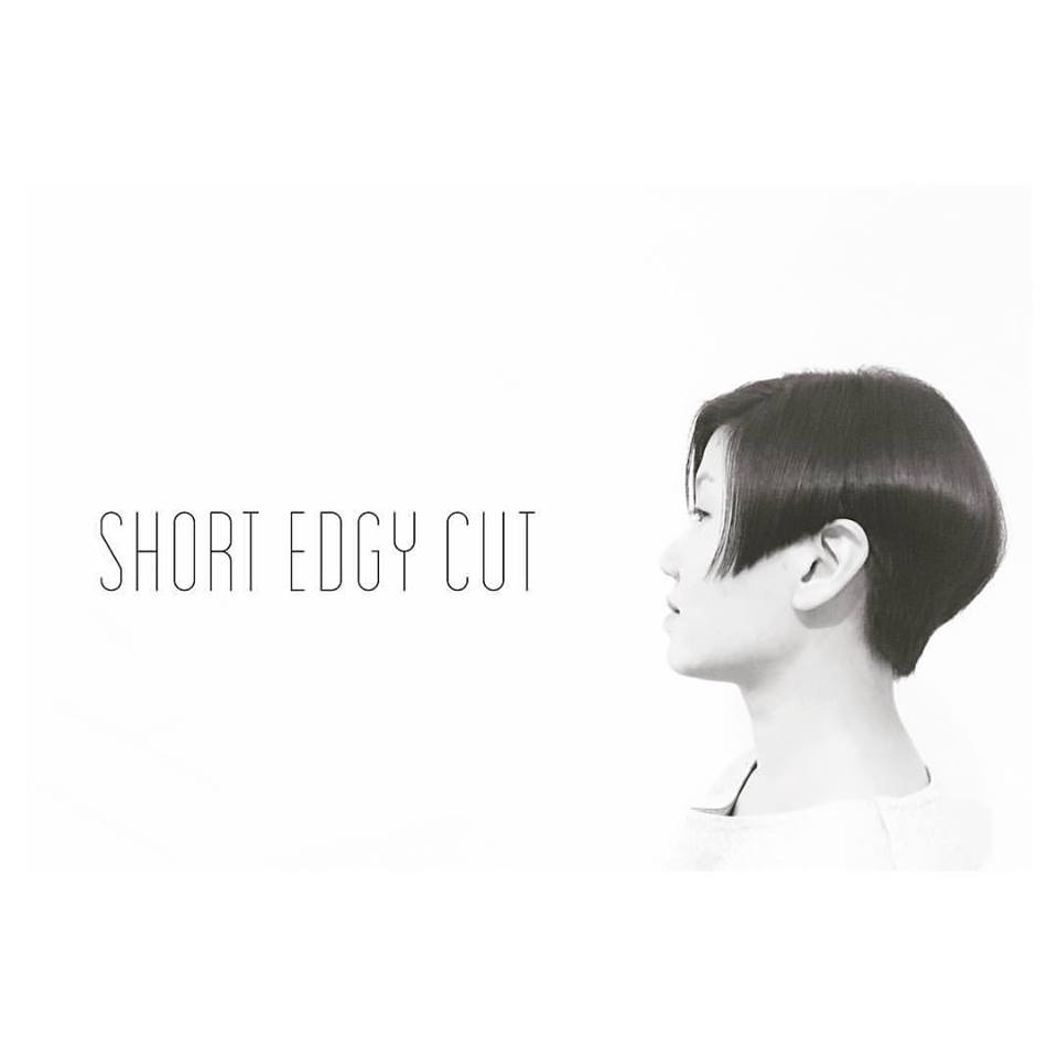Short Edgy Precision Cut for Job Interview