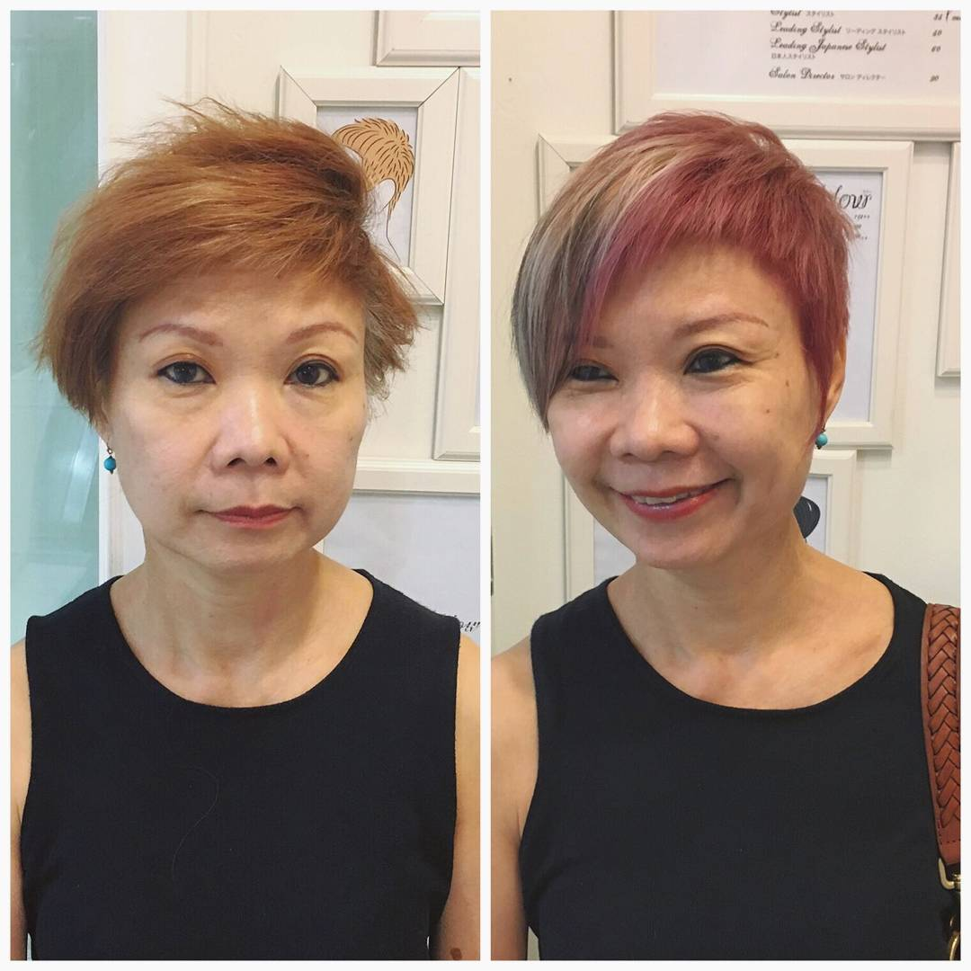 Multi-Toned Highlights for Mature Woman