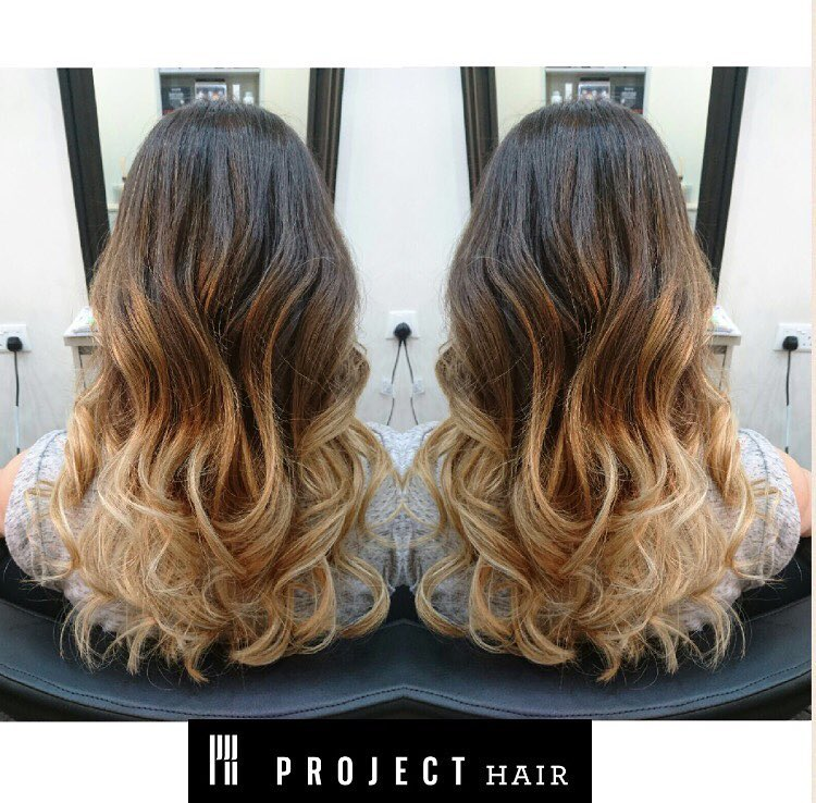 Blonde Gradation by Project Hair
