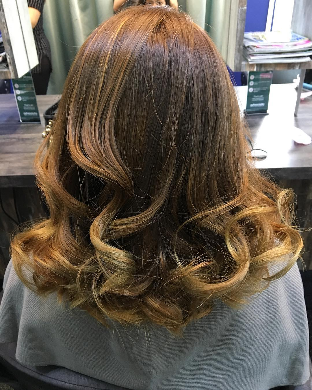 Caramel Brown by Focus Hairdressing
