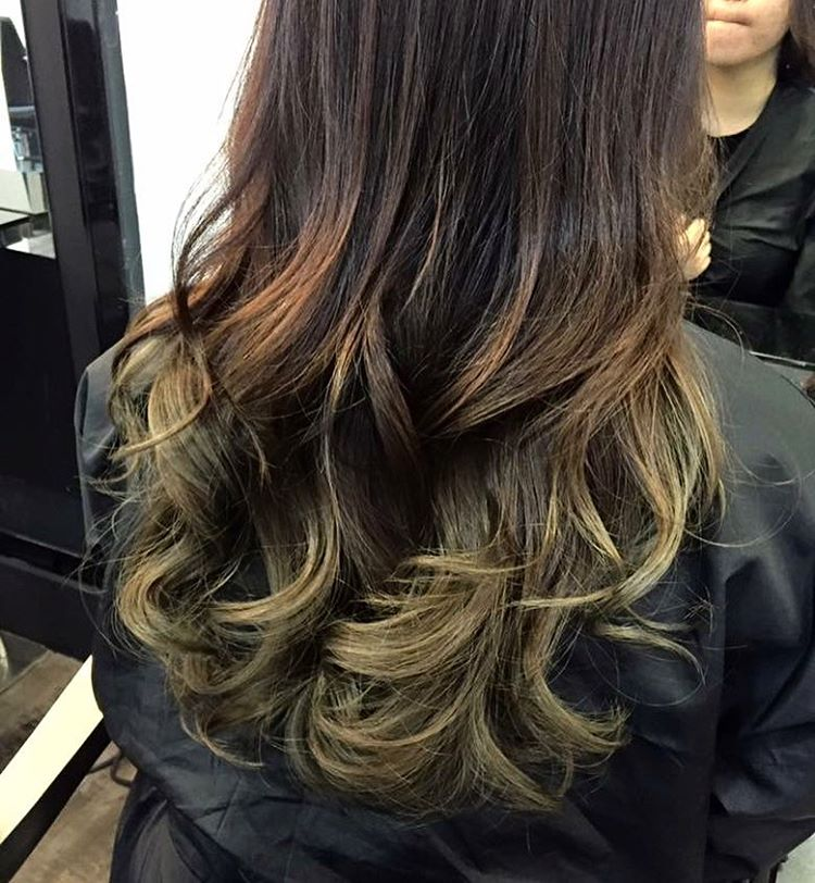 Olive Brown by Focus Hairdressing