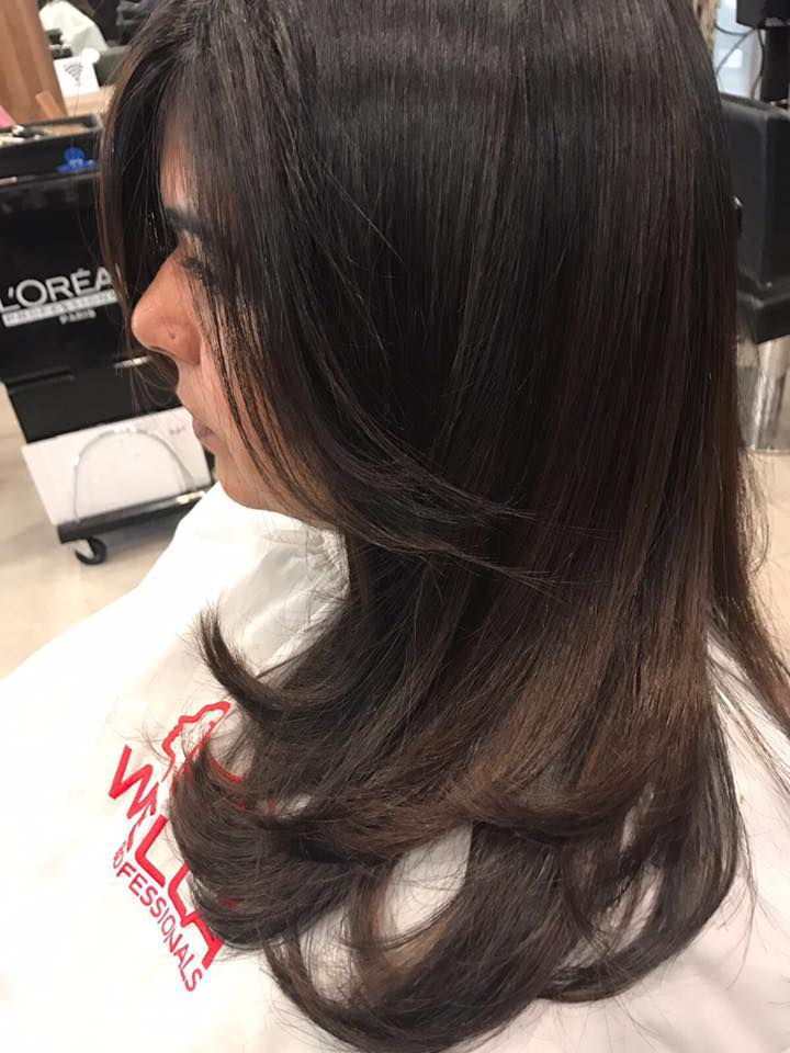 Before and After Volume Rebonding at Style NA