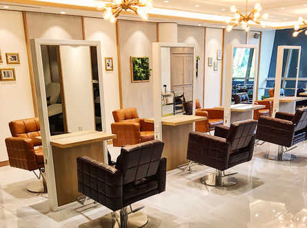 Best Salon for Professional Hair Colour at AUBE