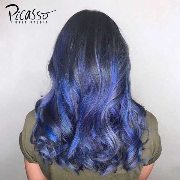 Blue Lavender by Picasso Hair Studio