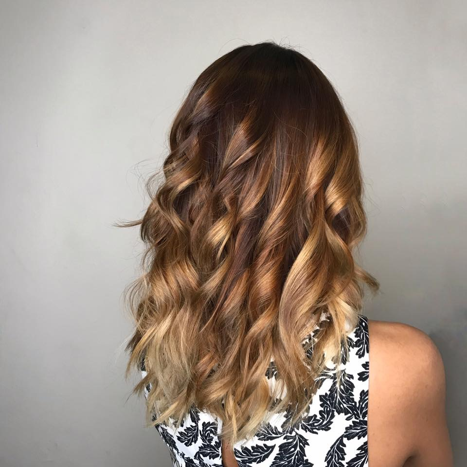 Brown Ombre by Picasso Hair Studio