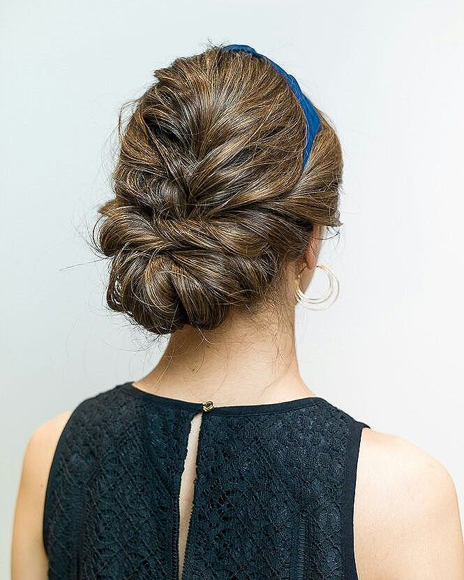 Braided Updo by COVO