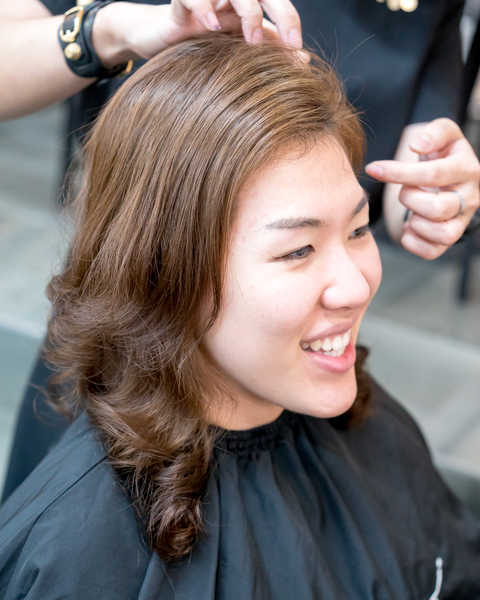 Blow Dry and Styling at Picasso Hair Studio