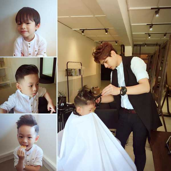 Kid's Haircut at Picasso
