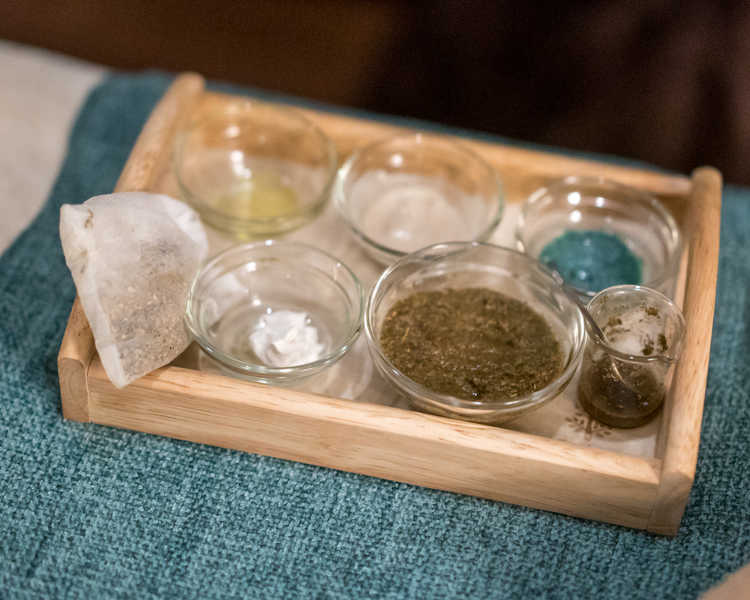 Facial Ingredients for Pimples at Organics Beauty