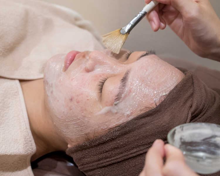 Enzyme Peel for Pimples at Organics Beauty