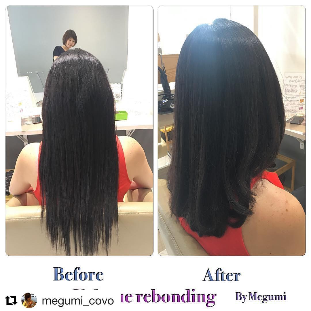 Before and After Rebonding at COVO
