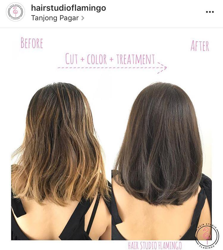 Healthy and Professional Hair Colour at Flamingo
