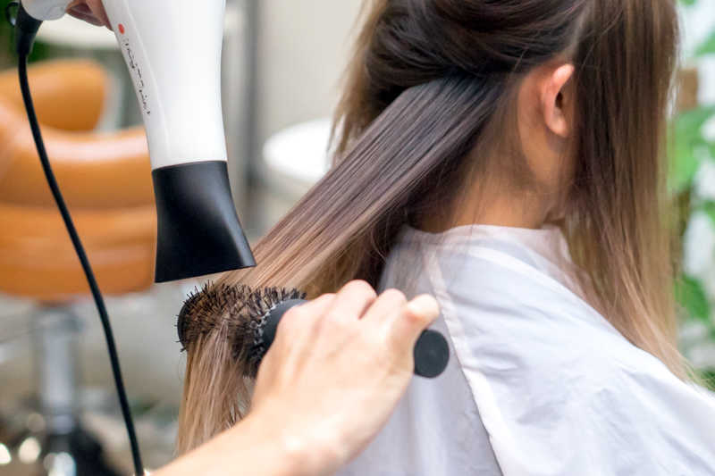 Blow Dry and Styling at Flamingo Hair Studio