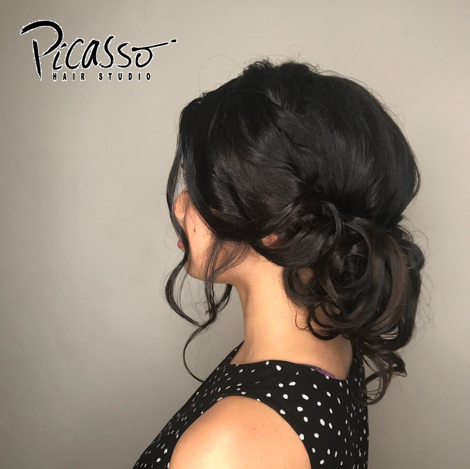 Bridal Updo by Picasso Hair Studio