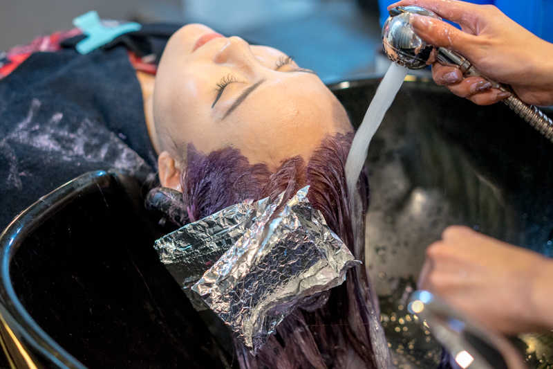 Hair Wash with Paimore Spectrum Bubble Shampoo and Express Collagen Treatment at Full House Salon