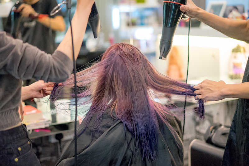 Blow Dry and Styling at Full House Salon