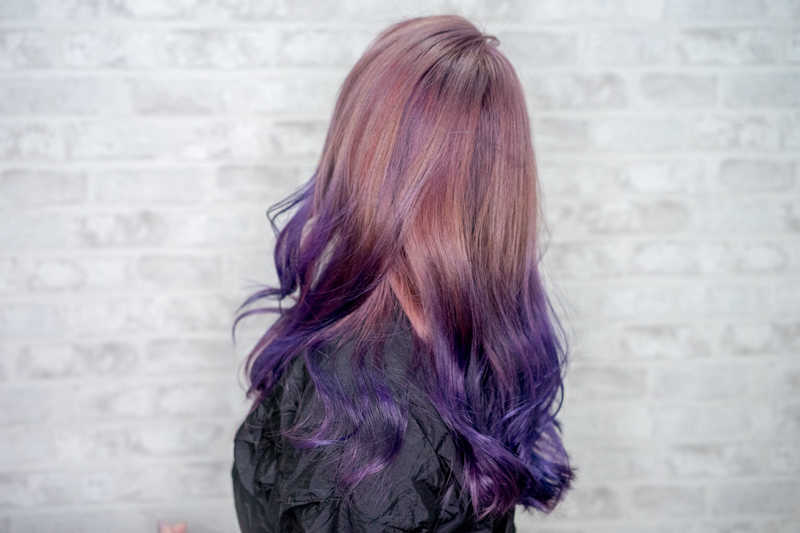 How I Look After Getting Spectrum Pale Pink Purple Hair Colour at Full House Salon