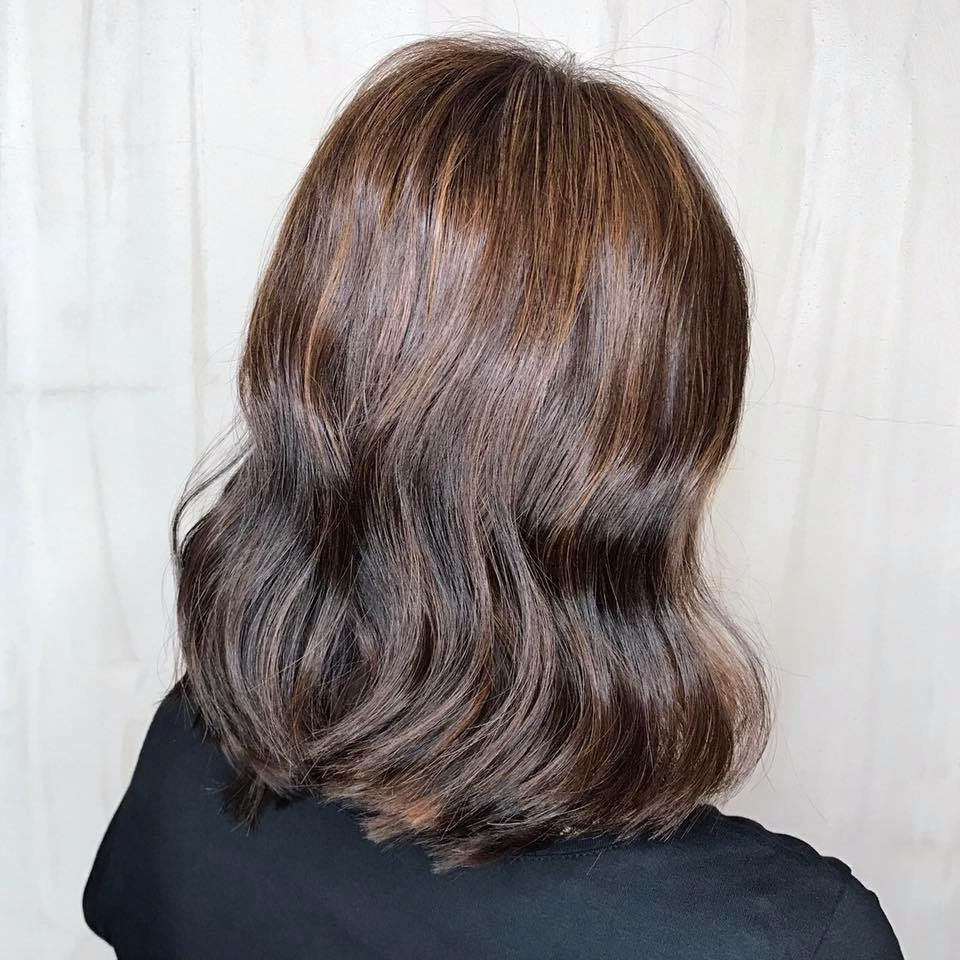Reddish Brown Hair Colour by Style NA